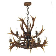 Antler tiered pendant light 9