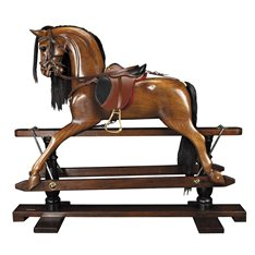 Authentic Models Wooden Rocking Horse