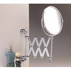 Bathroom Extending Shaving Mirror