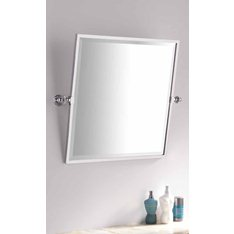 Bathroom Square Framed Tilting Mirror