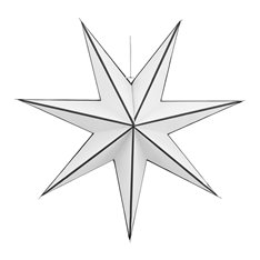 Black and White Star