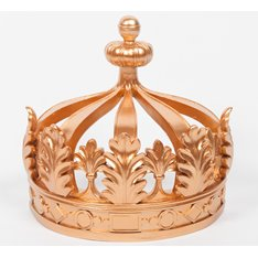 Empire Gold Bed Crown Canopy