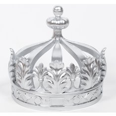 Empire Silver Bed Crown Canopy
