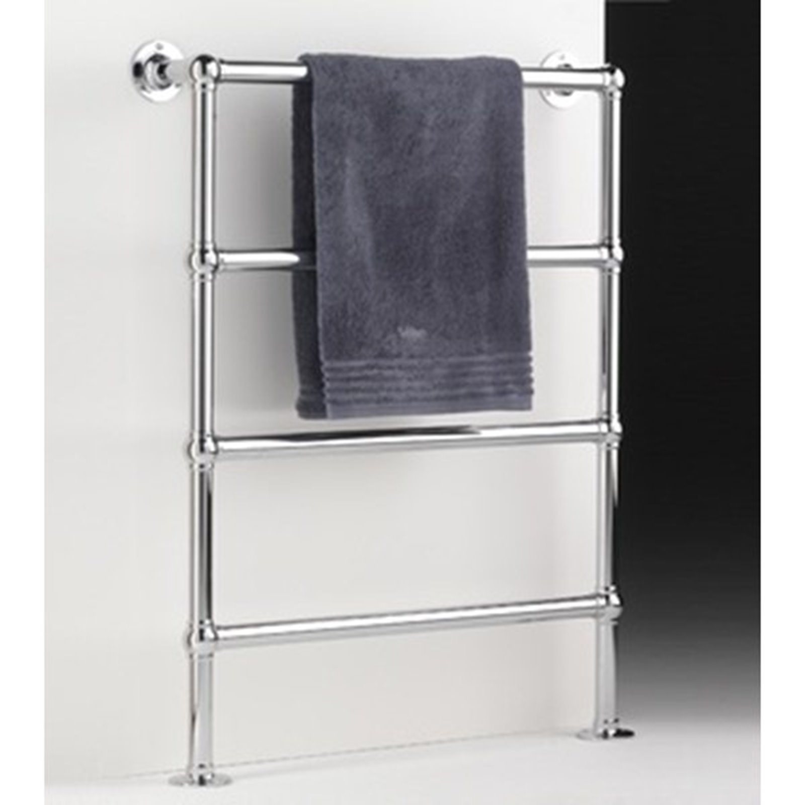 free standing towel warmer. Floor Standing 4 Rail Towel Warmer 32mm Tube. +Click To Zoom Free L