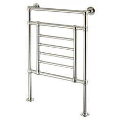 Floor Standing 6 central rail Towel Warmer 32mm