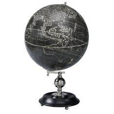 Globe on Stand Vaugondy 1745 Noir