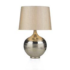 Halo Table Lamp Silver