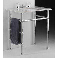 Heated Bathroom Washstand