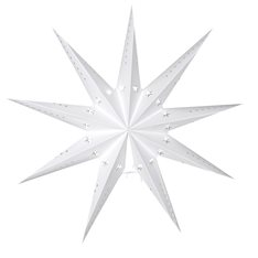 Huge White star Decoration