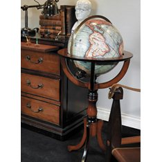 Library Globe on Stand Vaugondy 1745