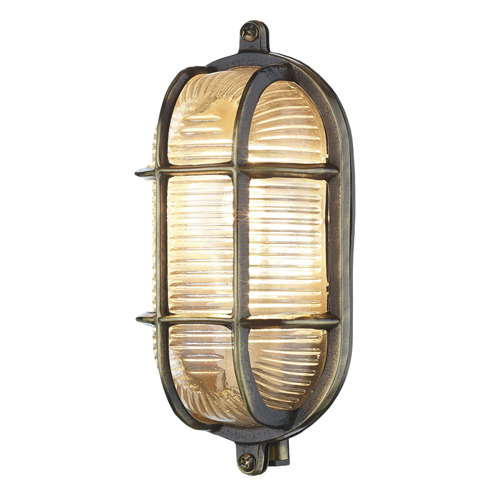 Marina Wall Lights Bhs : HICKS and HICKS Marina Wall Lamp Antique Brass - Hicks & Hicks