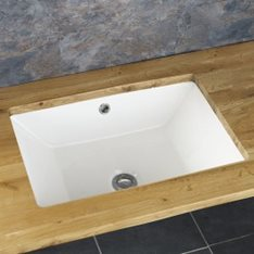 Medium Rectangular Under Counter Basin