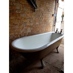 Original Victorian Tapered Bath Scroll feet