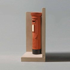 Postbox Bookend Architects  Model