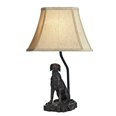 Retriever Table Lamp