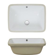 Small Rectangular Under Counter Basin