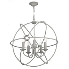 Sphere 3 Light Pendant Grey