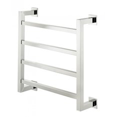 Square tube 4 Rail Electric Towel Warmer