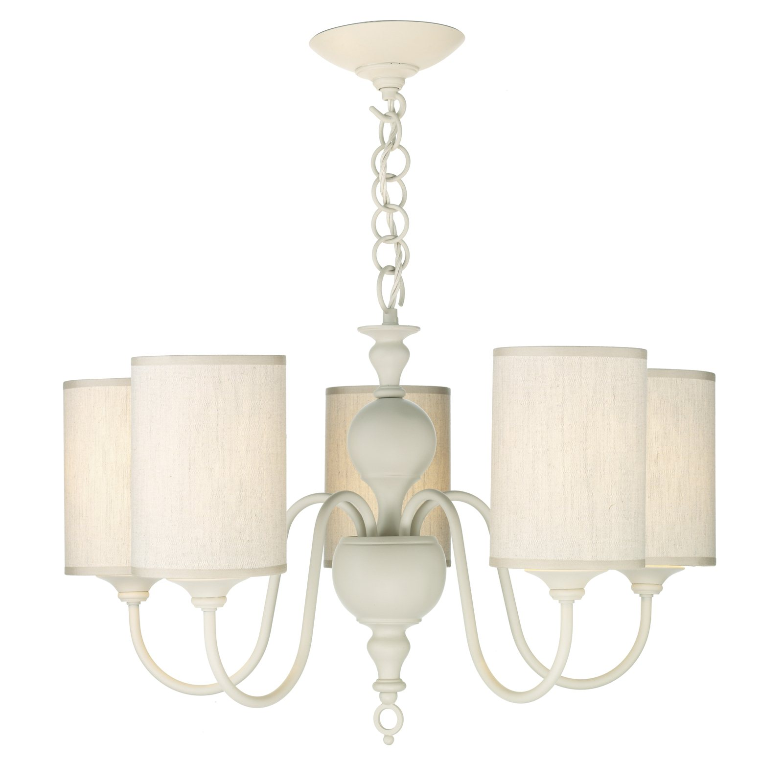 Hicks and hicks vintage cream 5 light chandelier hicks hicks mozeypictures Images