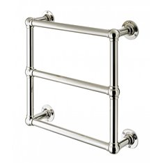 Wall Mounted 3 Rail Towel Warmer 32mm Tube