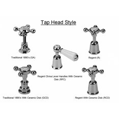 Barber Wilsons Kitchen Mixer Tap with crossheads Image
