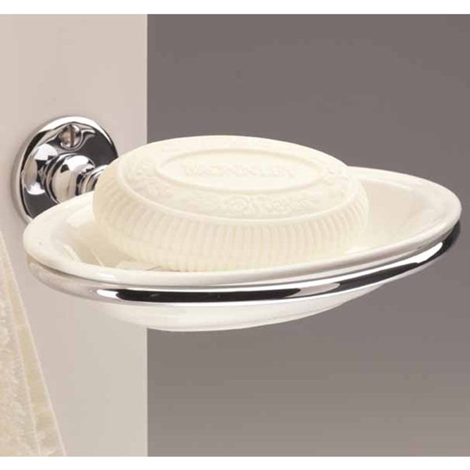 Bathroom Porcelain Soap Dish Image