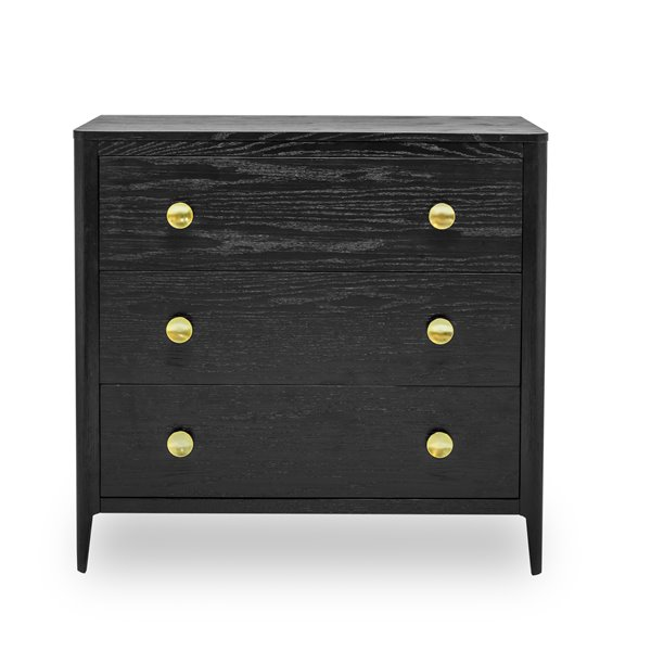 Berkley Black Chest of Drawers