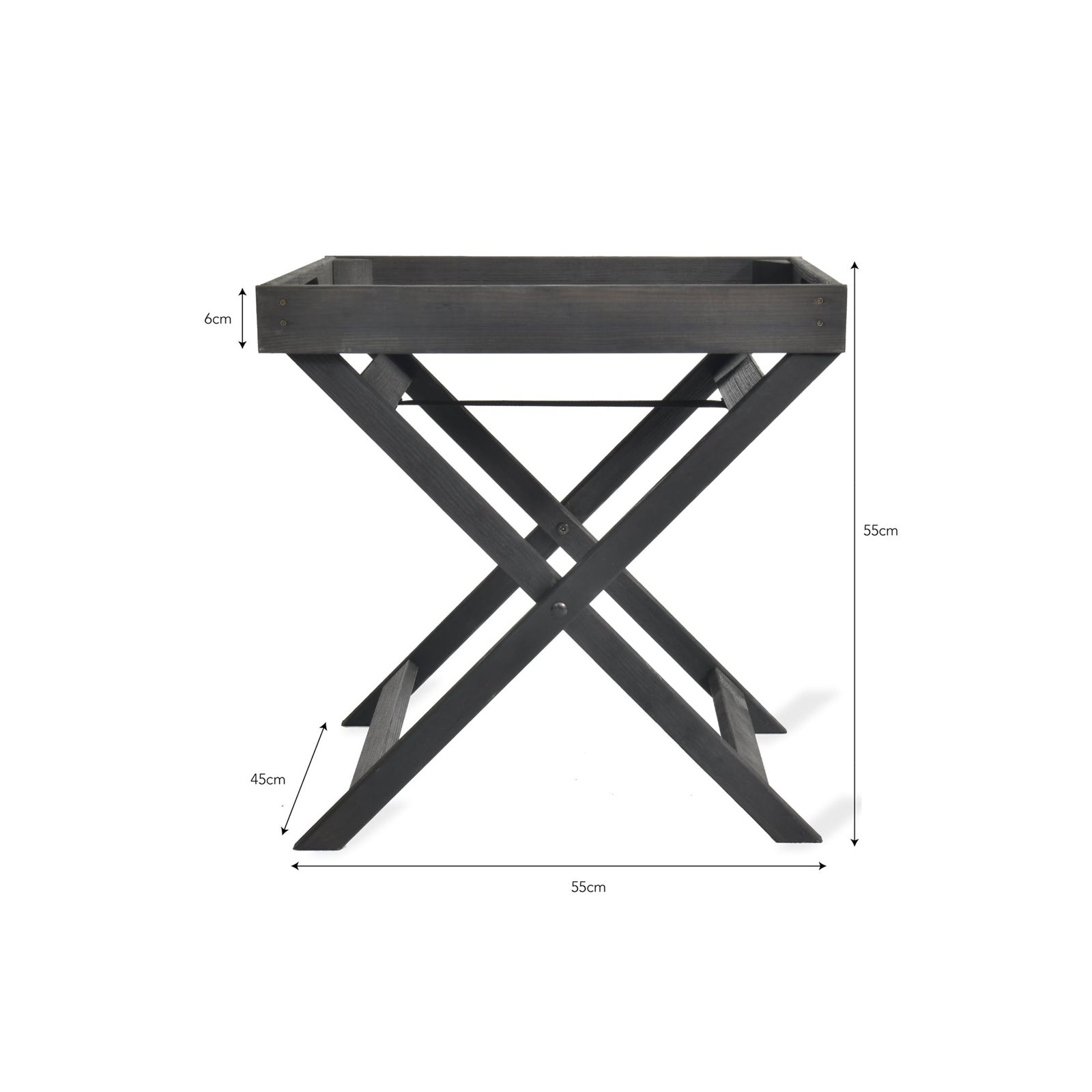 Black Butlers tray table Image