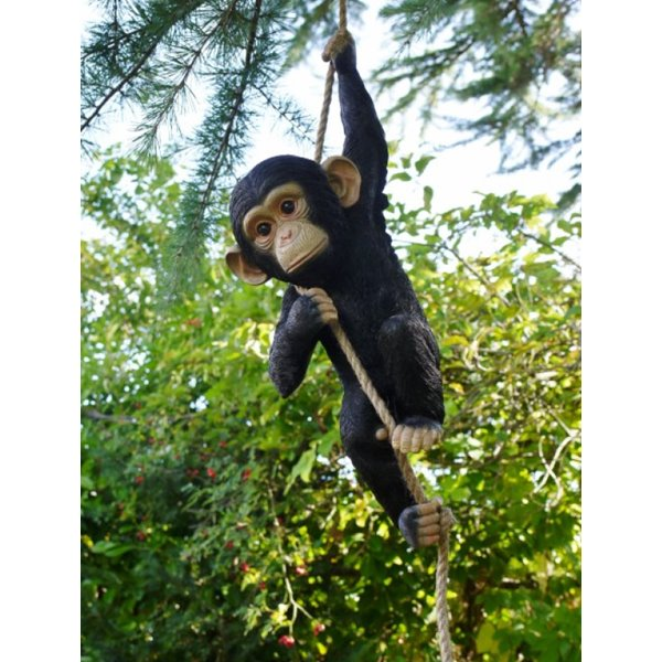 Climbing Monkey Garden Ornament