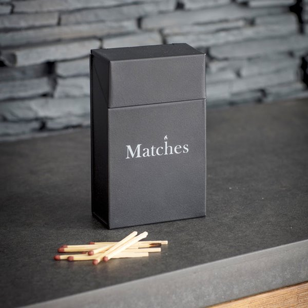 Dark Grey MATCH BOX