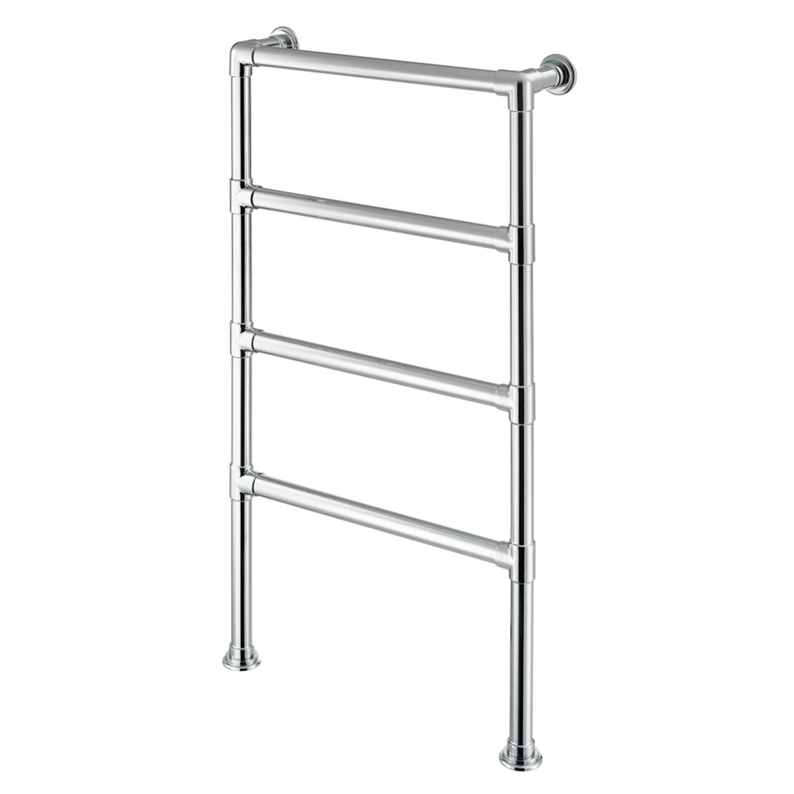Floor Standing Electric 4 Rail Towel Warmer 32mm Tube Image