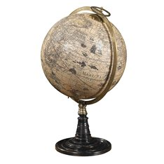 Globe on Stand Old World Image
