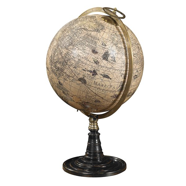 Globe on Stand Old World