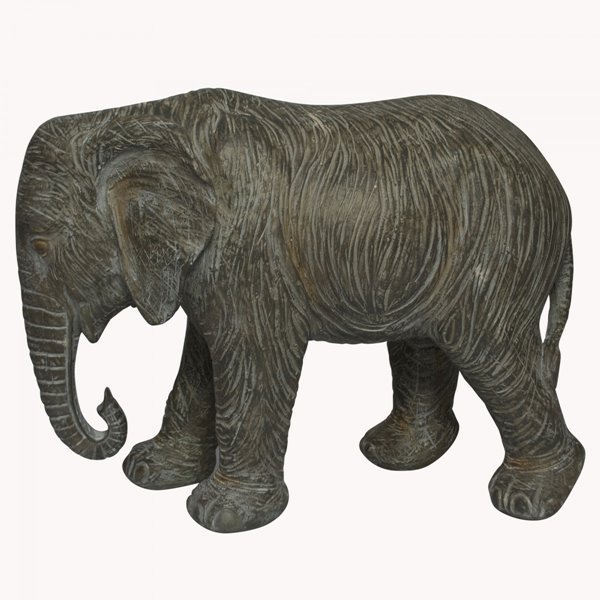 Grey Baby Elephant sculpture
