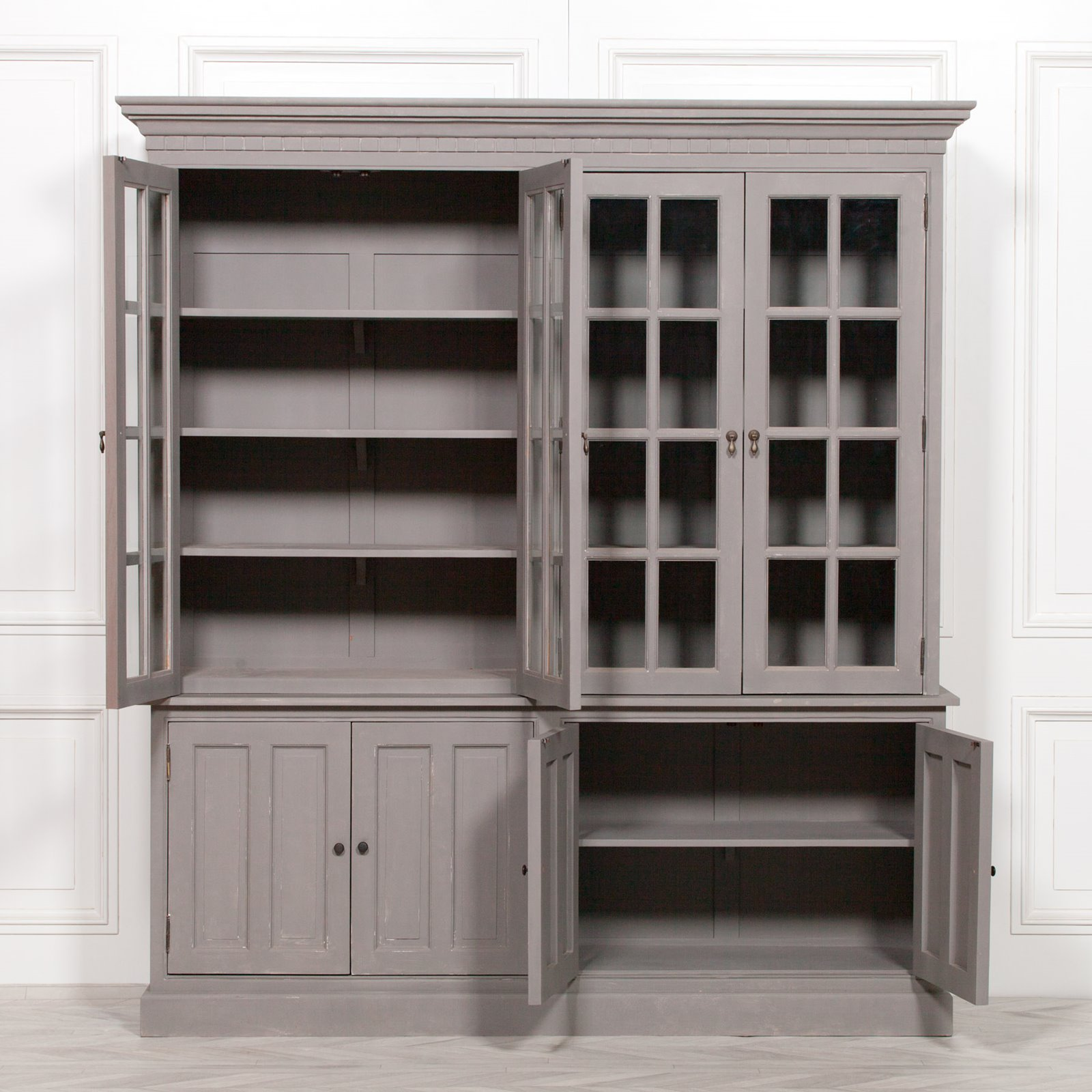 Chalk Paint Grey Display Dresser Image