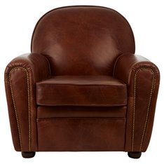 Leather Club Armchair Image