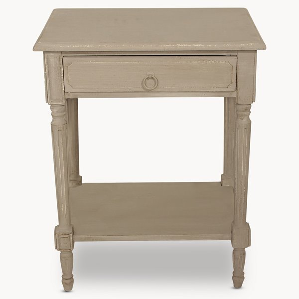 Louis Bedside Table with Drawer