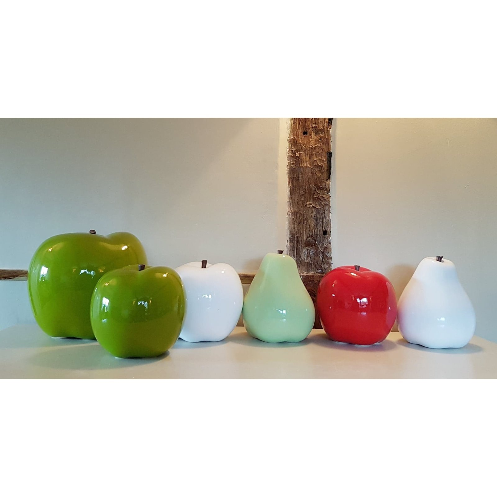 Oversized Ceramic Apple  Image