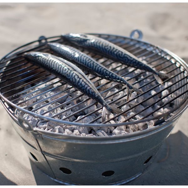Padstow Galvanised Barbeque