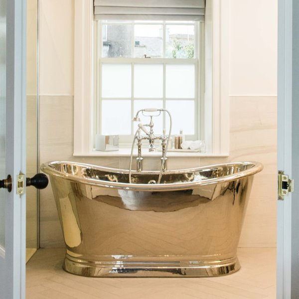 Polished Nickel Double Ended Bath