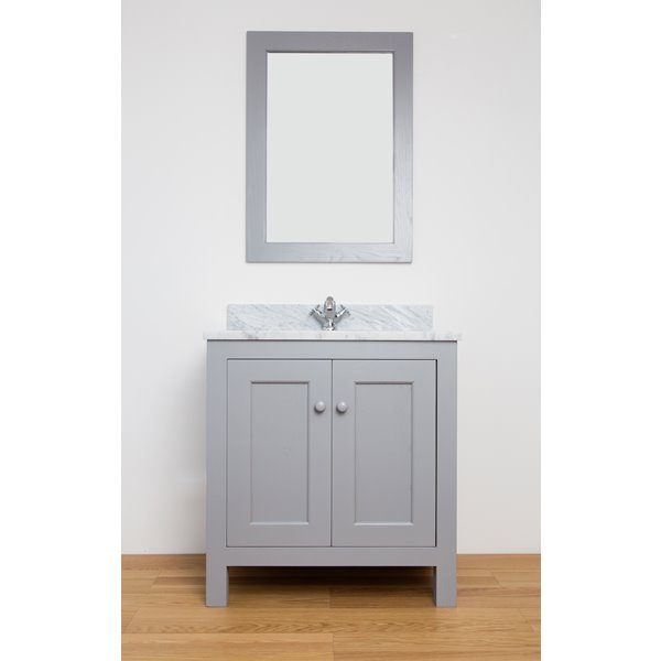 Sitting Pretty Single Vanity Unit with Doors