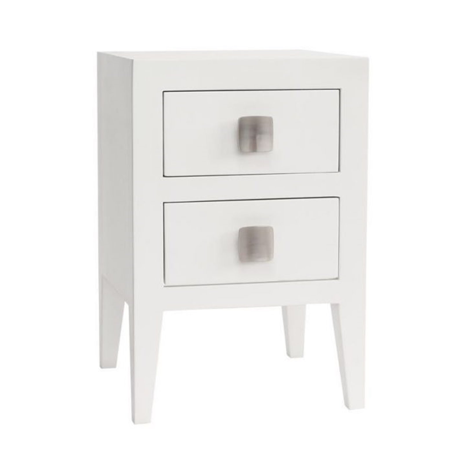 Turnbury 2 Drawer Bedside in White Image