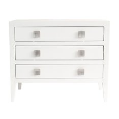 Turnbury 3 Drawer Chest of Drawers White Image