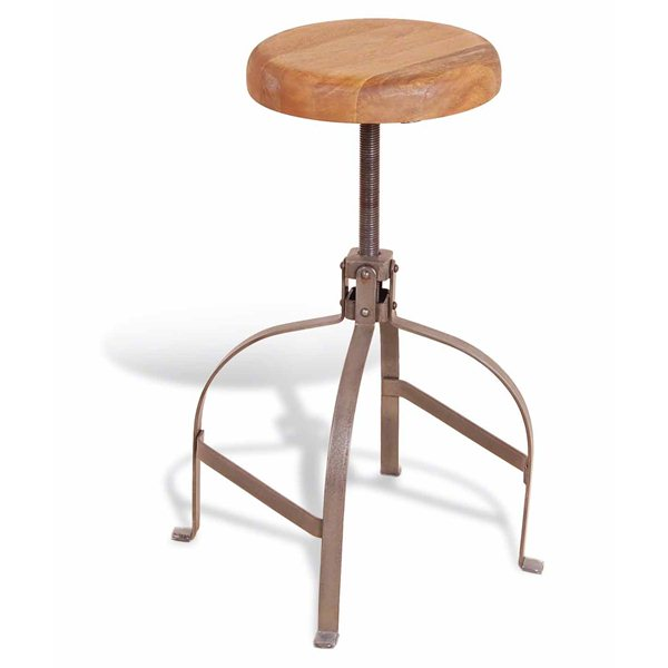 Vintage industrial Low Stool