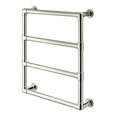 Wall Mounted Electric 4 Rail Towel Warmer 32mm  Image